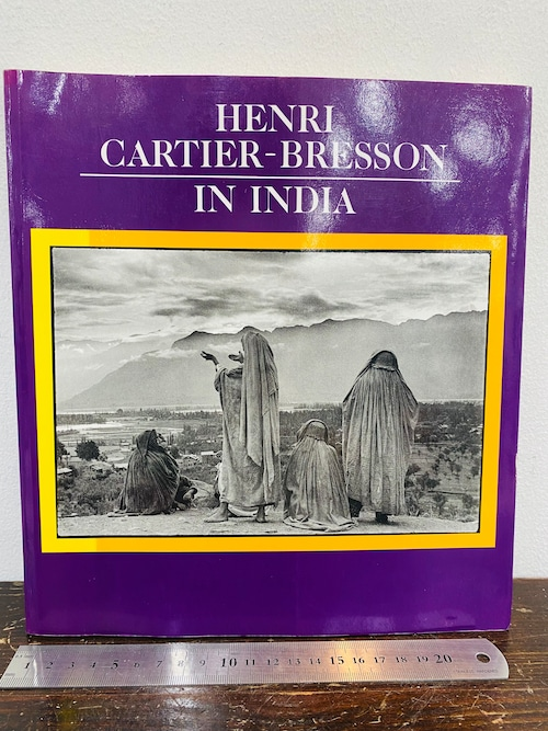 HENRI CARTER-BRESSON  IN INDIA  ヘンリー・カーターブレッソン