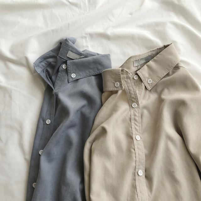 ニュアンスカラーシャツ 2colors