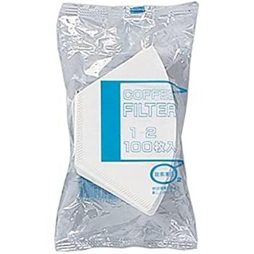 bonmac ボンマック コーヒー フィルター 1~2杯用 酵素漂白フィルター NB-100S 100枚入り #816125