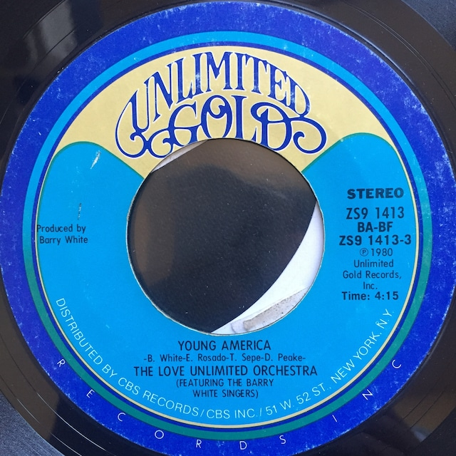 Love Unlimited Orchestra Featuring The Barry White Singers – Young America / Freeway Flyer