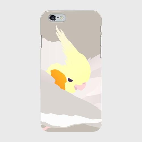 iPhoneケース もふもふオカメインコ シナモン【各機種対応】