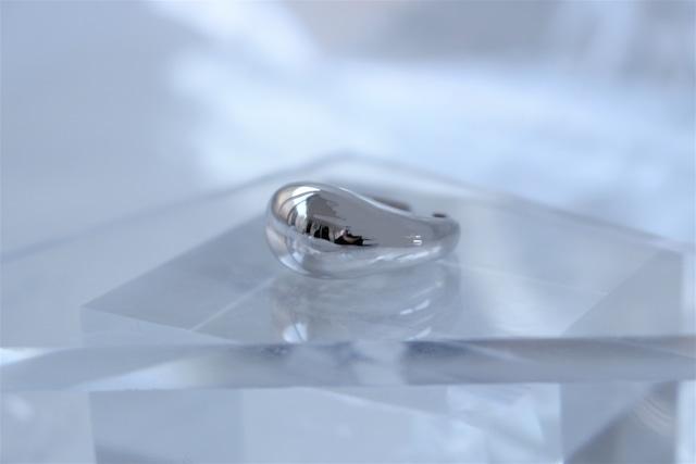 Vo.04【  DRIP  】×  round ring × 925silver × free