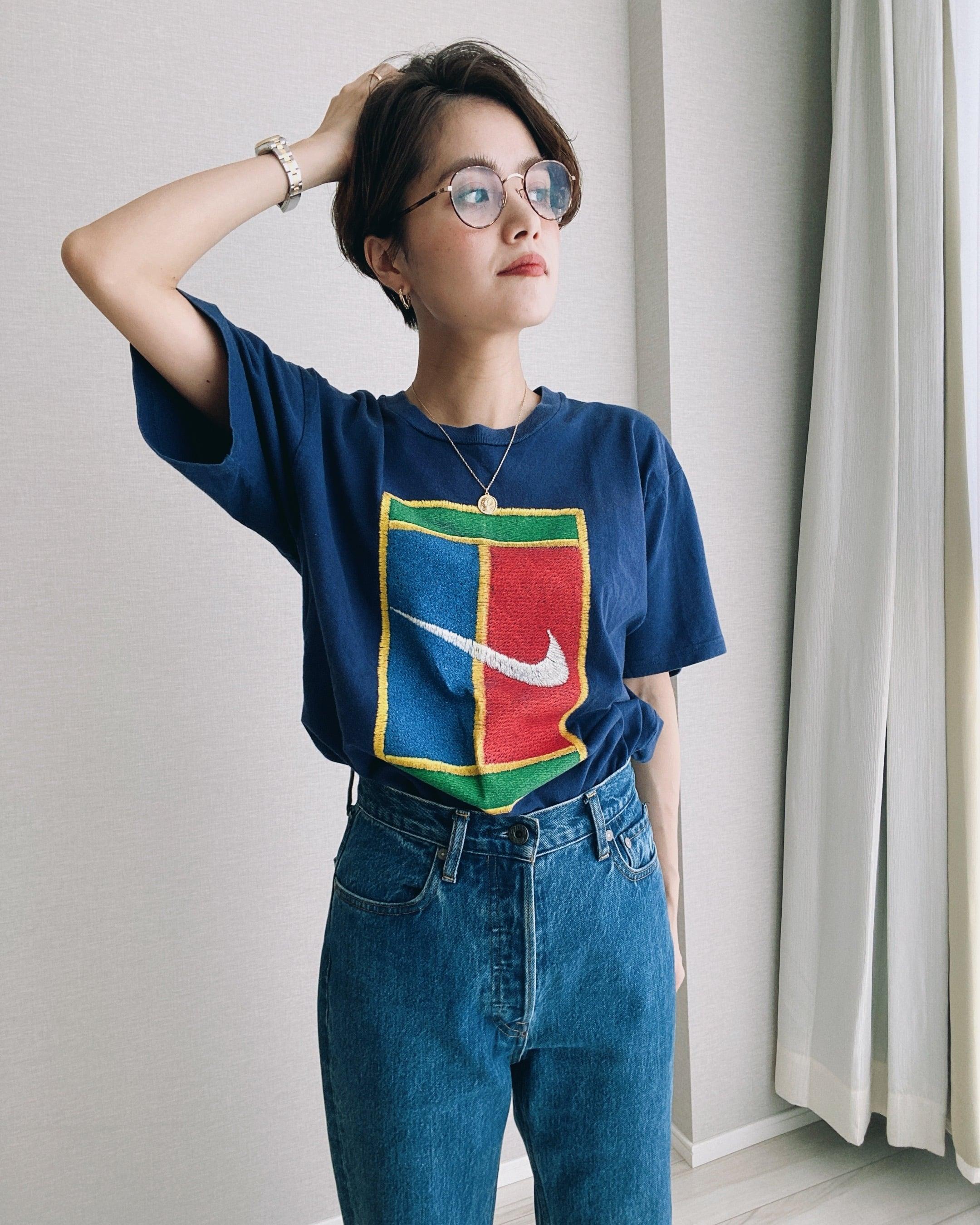(CS243)90'S NIKE printed T-shirt