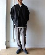 LAMOND (ラモンド)/ STRETCH OX PANTS(ストレッチ オックスフォード パンツ)ブラウン