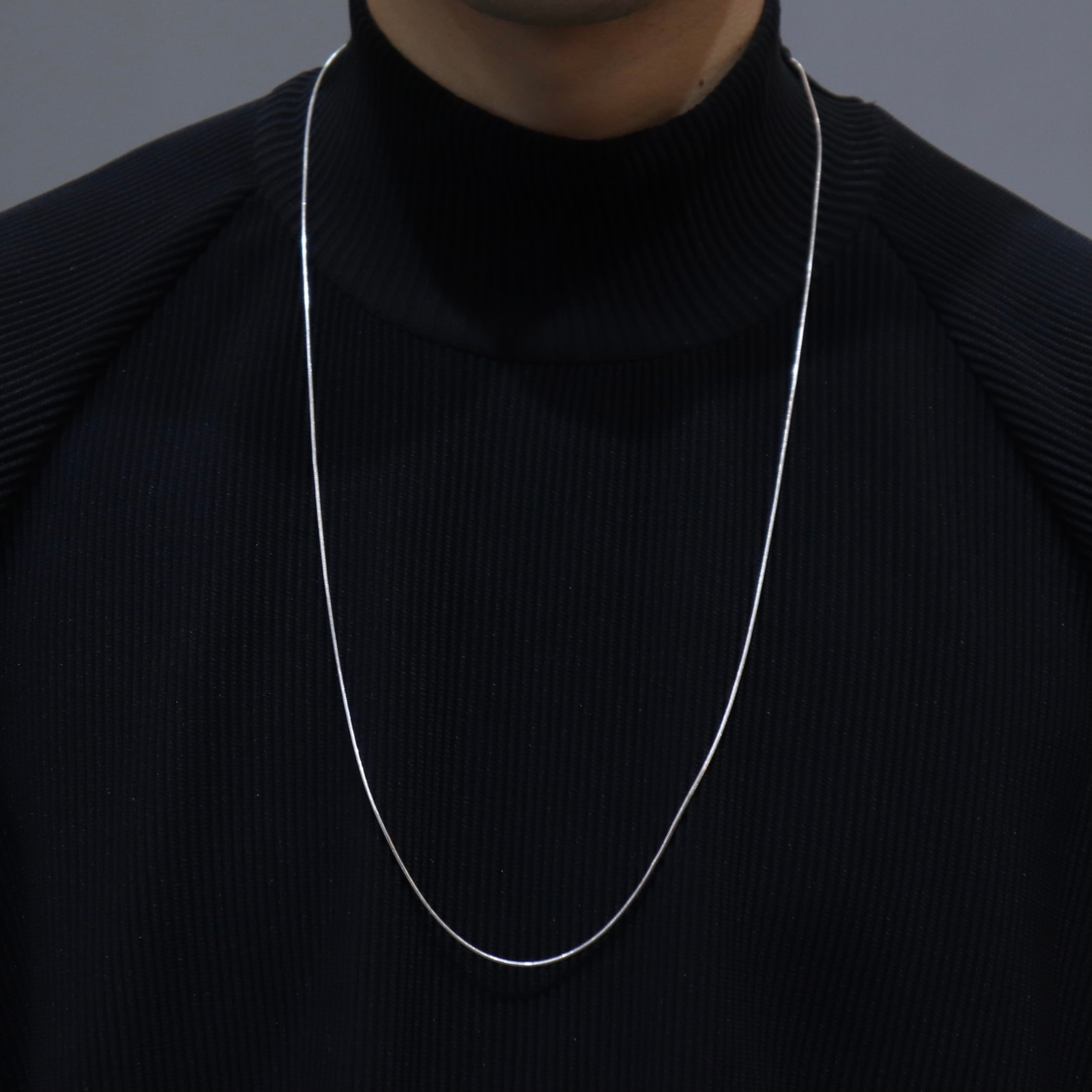 1970〜80s   Made In ITALY   Silver 925   Chain  Necklace