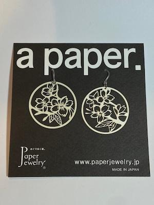 【Paper Jewely】サクラ/ピアス