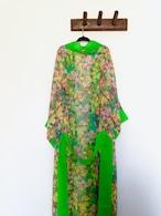 Midium Robe Floral Green ミディアムローブフローラルグリーン