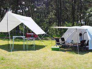 初めてのキャンプ!フルサポート4名プラン1泊2日ひとり4,950円