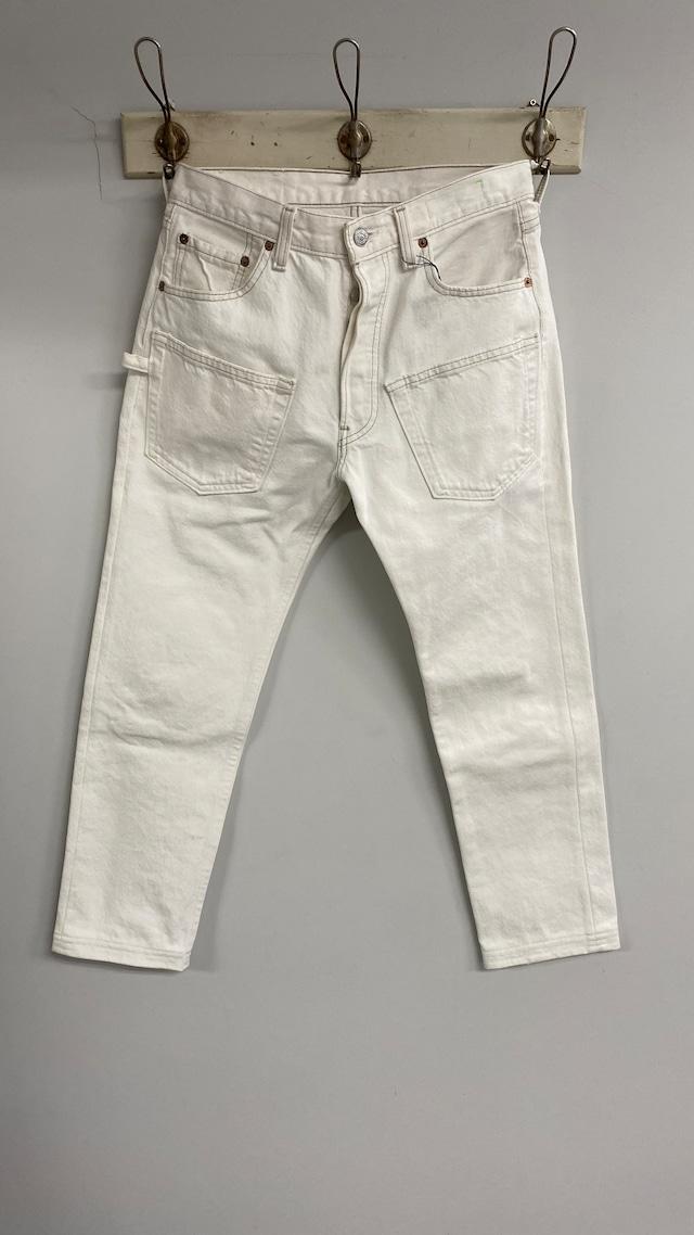IHATOV / REMAKE PANTS 1(WHITE)