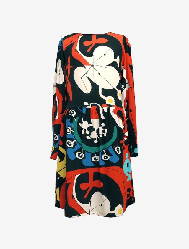 DESIGAL BY  MONSIEUR LACROIX PRINTED DRESS