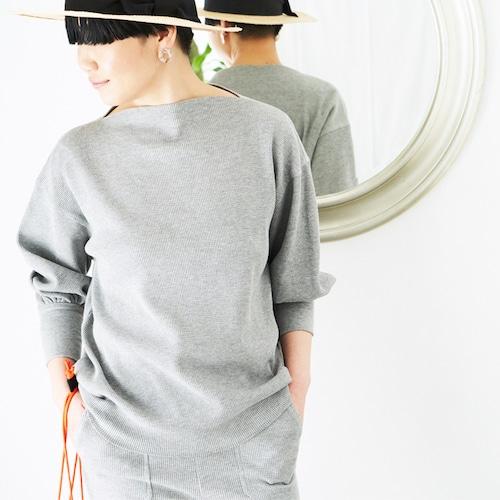 [OUTLET] L'Ancre (アンカー)サーマルバルーンドレスTシャツ