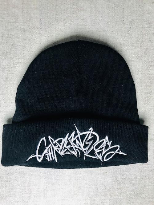 graffiti knit cap