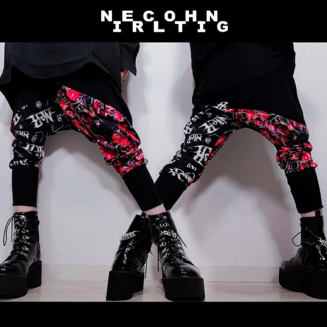 STYLISH SARROUEL PANTS【CHERRY】