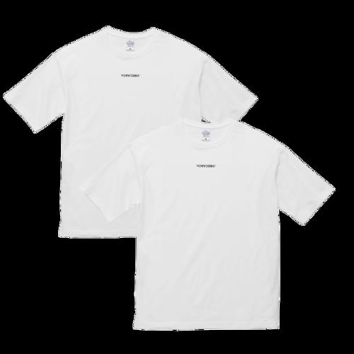 2枚組ロゴTシャツ 【ジャパンフィット】