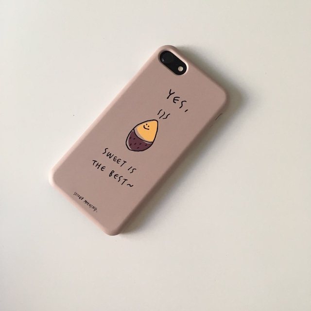 [second morning] ベージュコグミ ハード iPhoneケース (全8種)