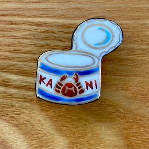カニ缶(帯留・ブローチ)