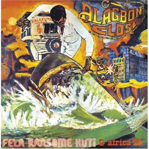 【USED/LP】Fela Ransome Kuti & Africa 70 - Alagbon Close