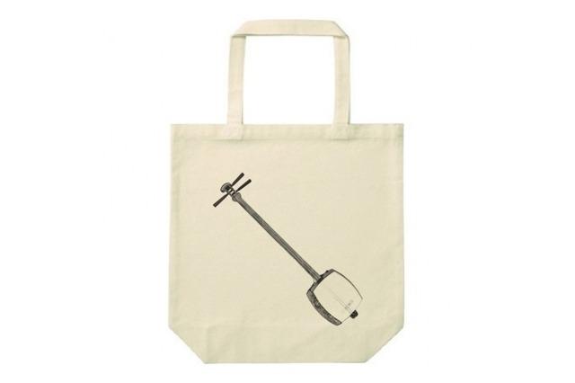 三味線のトートバッグ