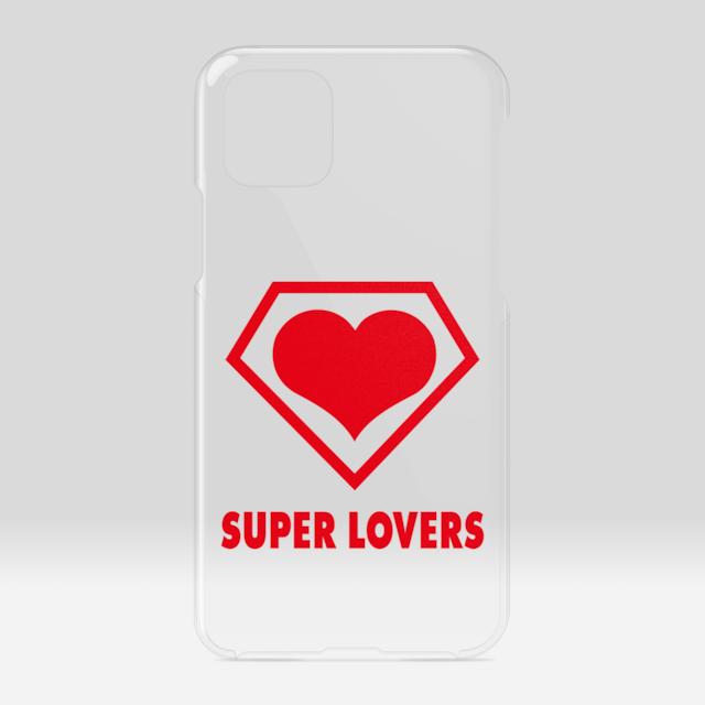 SUPER LOVERS logo/スーパーラヴァーズアイホンケース 11Pro