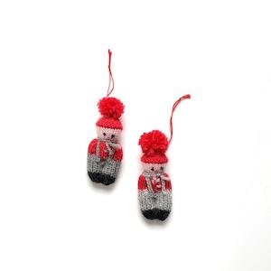 Small Tonttu Ornaments
