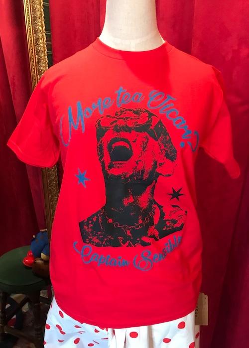 Captain Sensibleキャプテンセンシブル/T-shirt  RED