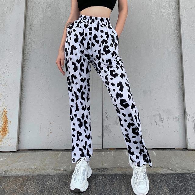 【ボトムス】 特別デザイン ファッション ハイウエスト レギュラー丈 シンプル カジュアルパンツ-50686676