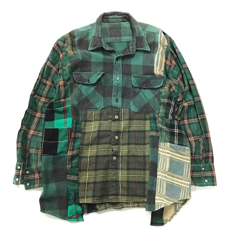 REMAKE  HEAVY SHIRTS リメイクヘビーネルシャツ【Shirts51】