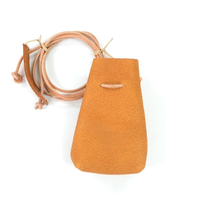 Neck Mini Pouch(植物タンニンなめし豚革)