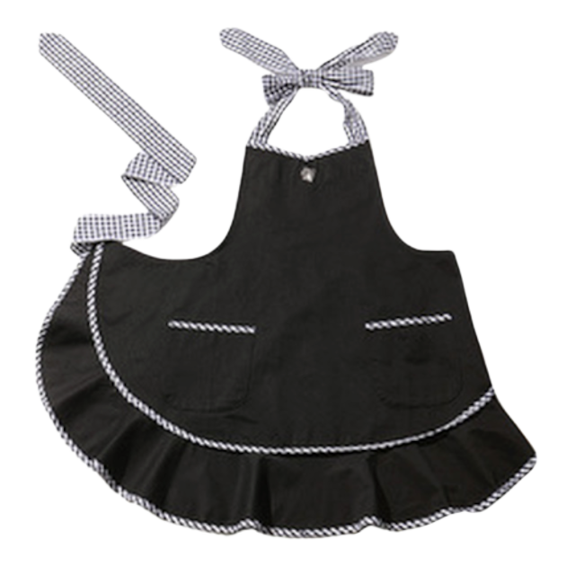 APRON black / エプロン(ブラック)