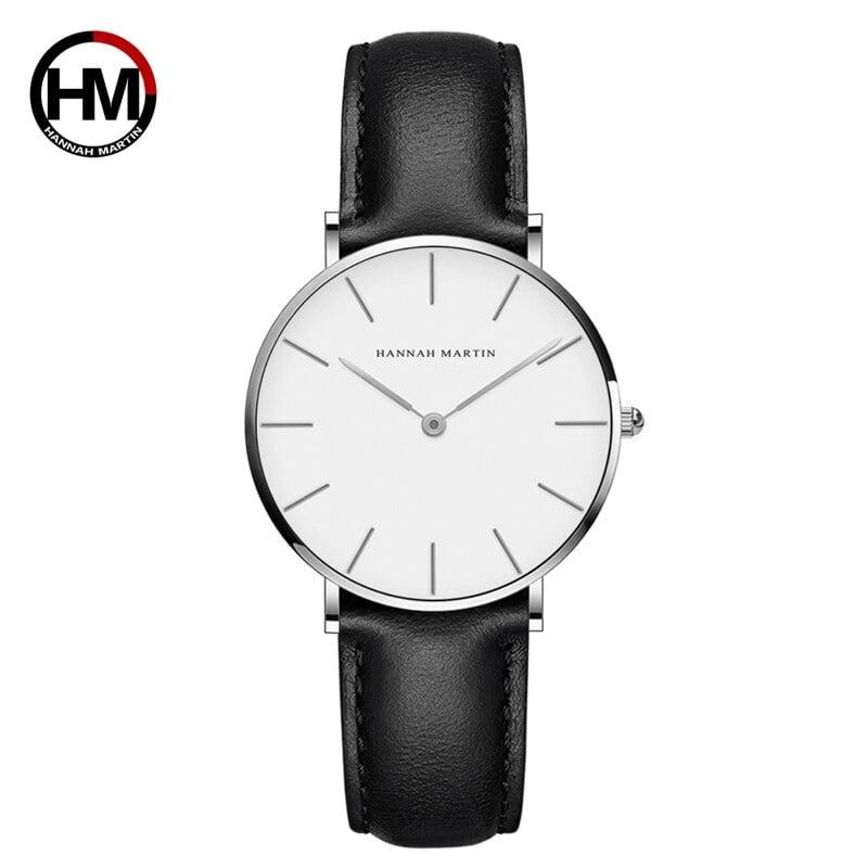 女性のファッション時計因果革ストラップ日本クォーツムーブメントトップ高級ブランド腕時計防水relogiofemininoCB36-YH