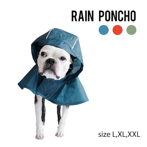 RAIN PONCHO(L,XL,XXL) レインポンチョ
