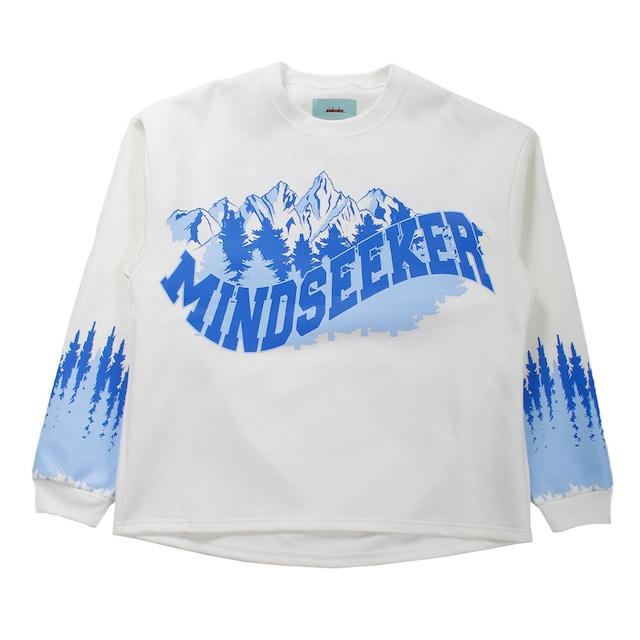 MINDSEEKER Long Sleeve T-shirt White