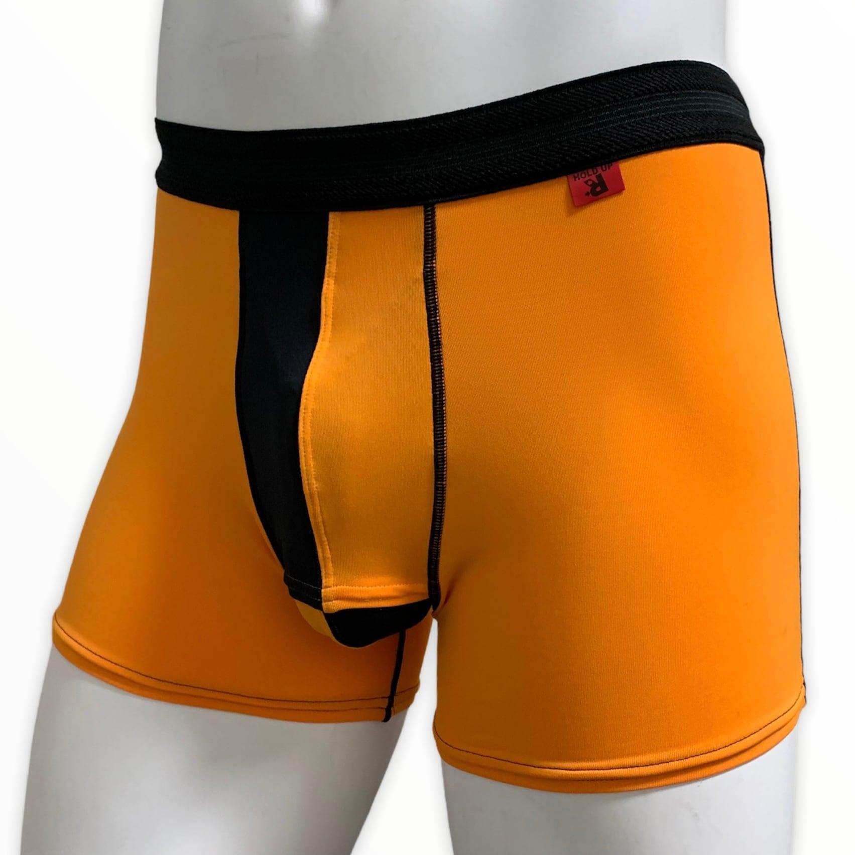 ホールドアップボクサー オレンジ×ブラック