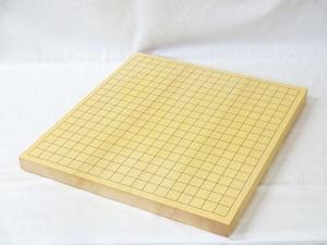 碁盤 新かや 1寸 接合卓上盤