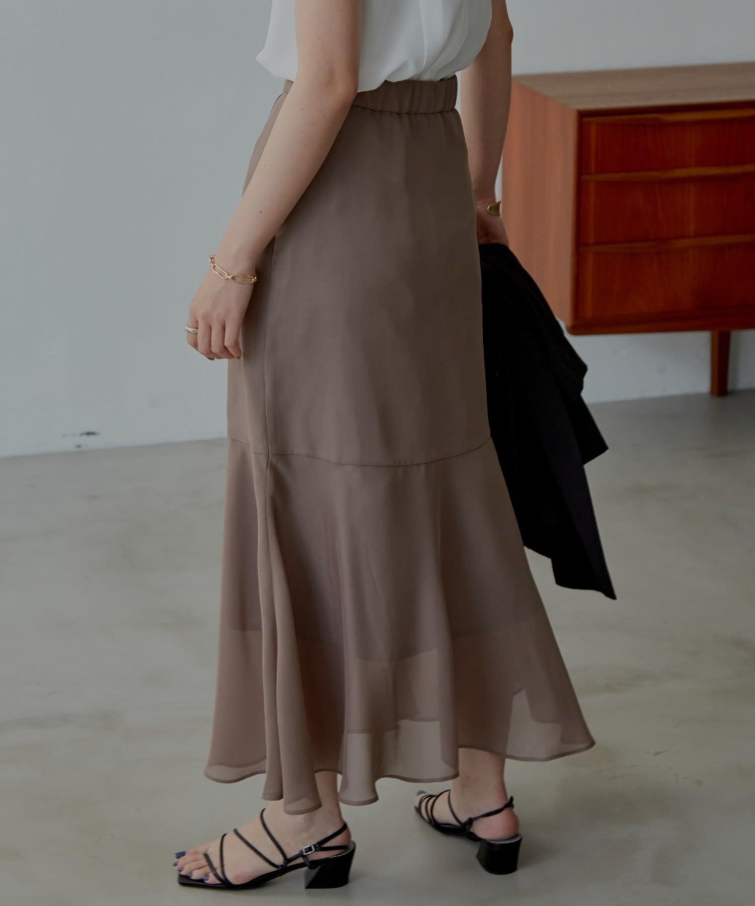 シアーツイルマーメイドスカート/MOC