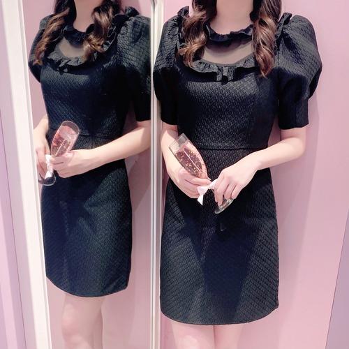 ♡送料無料♡【Sister Jane】Framed Jacuard Mini Dress