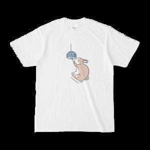 うさぎと風鈴Tシャツ