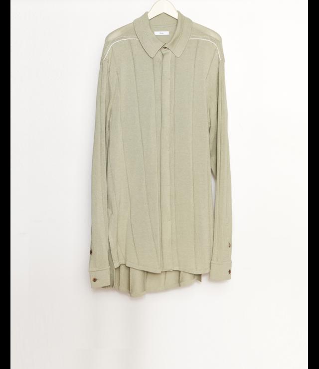 Knit Shirt / L.Green