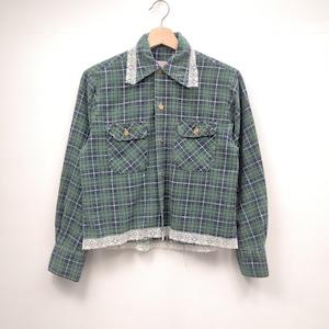 【DUST AND ROCKS made】リメイクシャツ