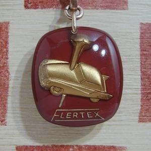 フランス FLERTEX[フレルテックス]ブレーキパッドメーカー 自動車ブルボンキーホルダー