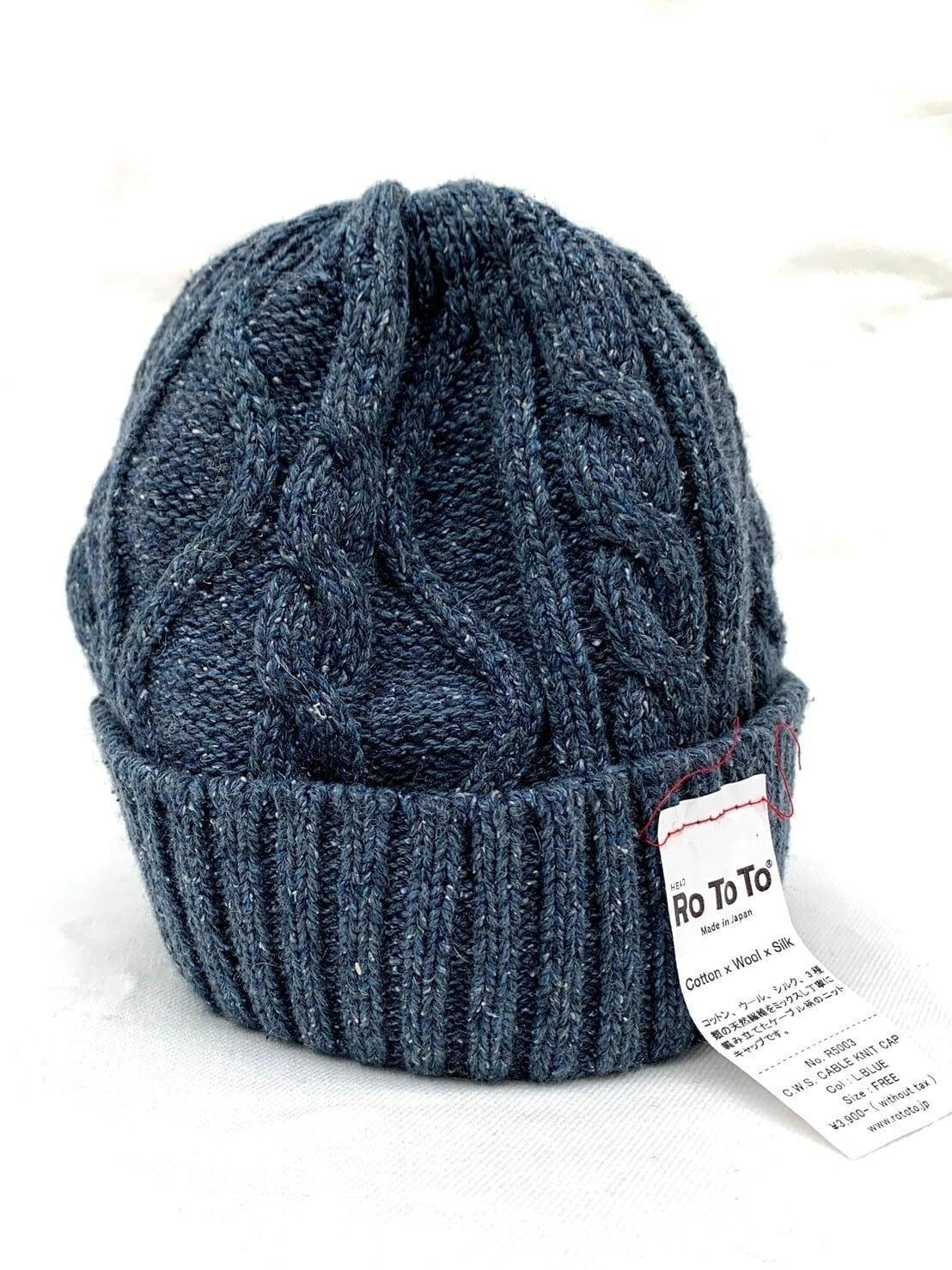 【ROTOTO】C.W.S CABLEKNIT CAP