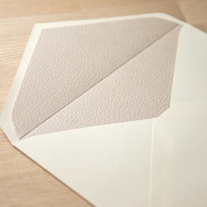 飾り紙 レザーベージュ(洋1封筒用)  10枚