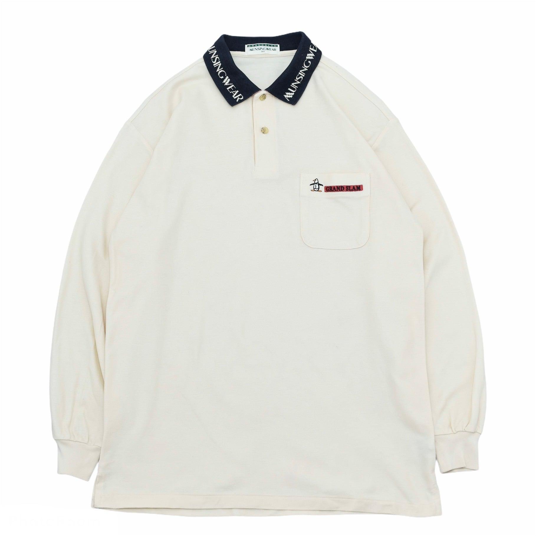 MUNSINGWEAR one point logo polo shirt