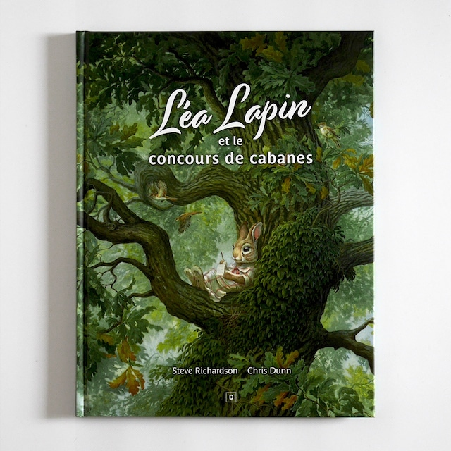 絵本「Léa Lapin et le concours de cabanes」