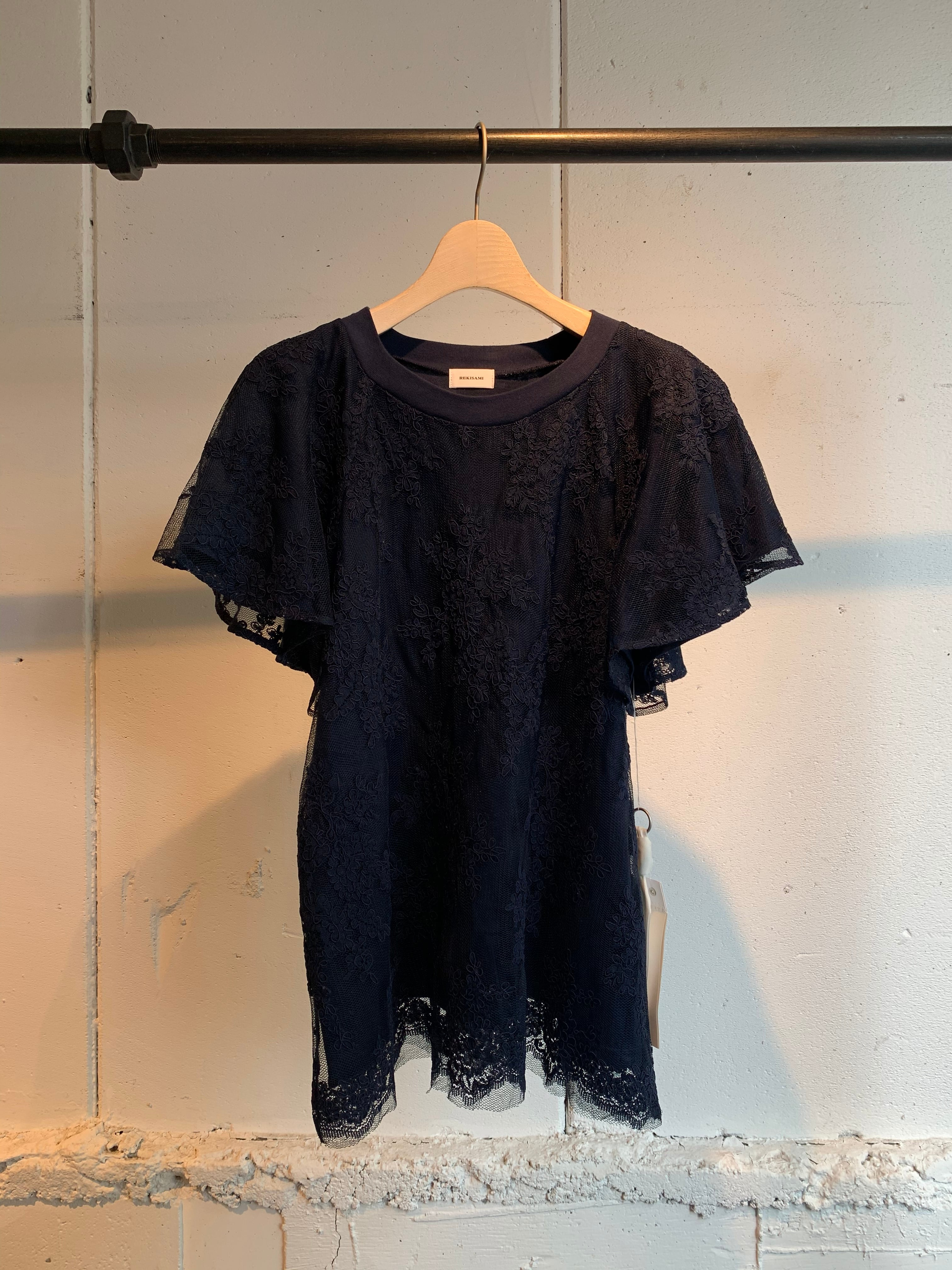 REKISAMI lace pull over
