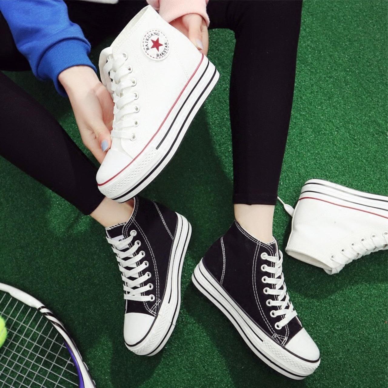 【即納】sports line sneakers