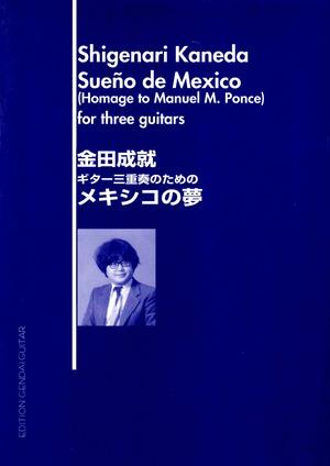 K29i99 メキシコの夢(ギター/金田成就/楽譜)