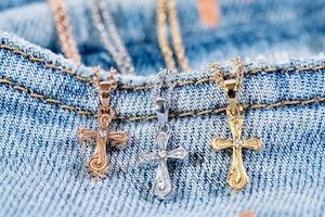 【Hawaiian cross necklace】