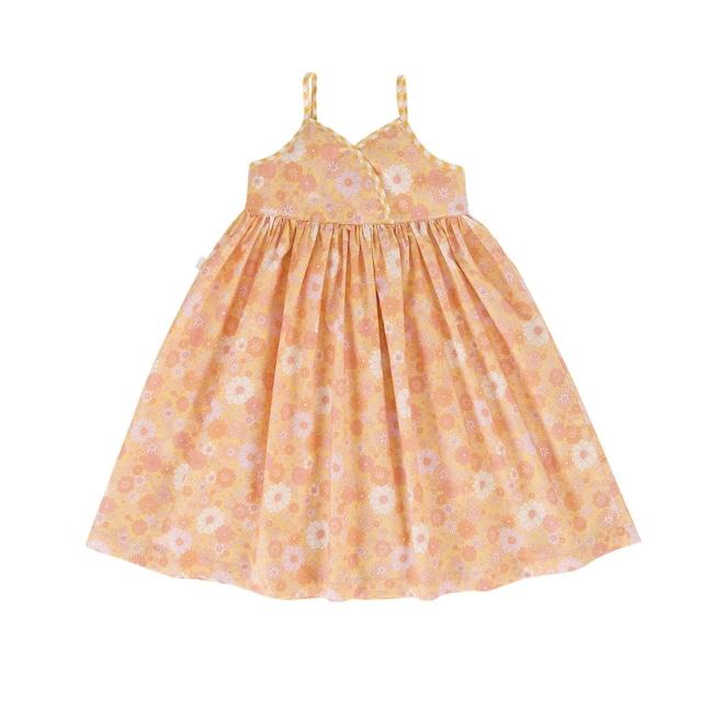 Peggy / Sky Dress Posy Print