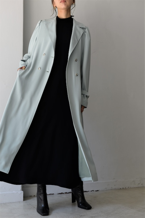 ROOM211 / Puff sleeve Trench